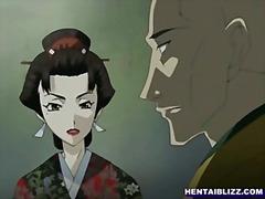אנימציה שעבוד בחורה הנטאי יפניות