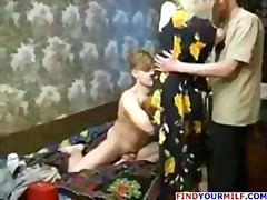 Naughty mom fucking young guys