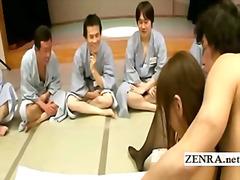 Aasia Kummaline Fetiš Sõrmega Grupikas