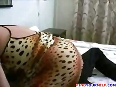 Mature bbw mom and her russian boy