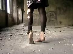 ბინძური ფეხის ფეტიში