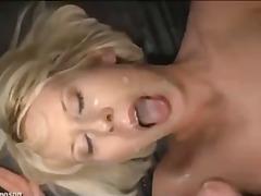Blonde Aleman Pinutukan Sa Mukha Maraming Lalaki Germans