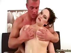 Минет Брюнетки Жесткий Секс Сиськи Большая Грудь