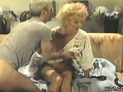 Mature couple enjoys a hot fuck session