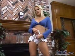 Молоденька Блондинки Вона Дрочить Порнозірки