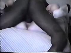 Interraciaal Sex Met Z'n Drieën Ejaculatie