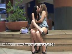 כוסיות לסביות ציבורי נשיקות חזה גדול