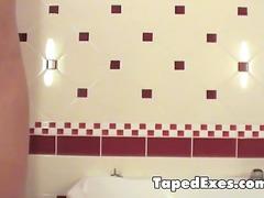 ქერა ტრაკი ვიდეო კამერა ბინძური