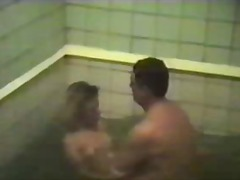 Amateur orgy in russian spa centre
