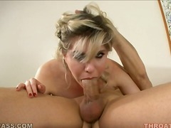 Jackie thinks cock is hot