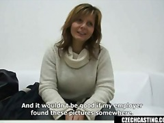 Anaal Suhuvõtmine Brünetid Intervjuul Tšehhi