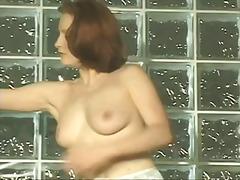 Милф Црвенокоса Големи цицки