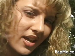 Blonde Jakol Inakit Pulang Buhok