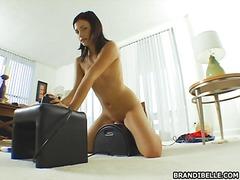 Babe Pagjajakol Orgasm Mag-Isa Laruan