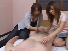 Threesome Amateur Asien Brünette Guy
