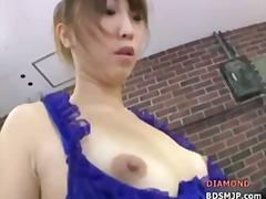 Kinky mistress with latex orgasm femdom
