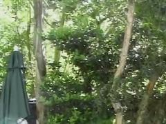 Sesso Orale Brunette Eiaculazione Con Bersaglio Al'aperto