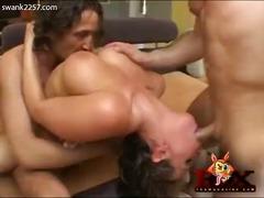 სექს-სამეული ანალური გოგონა ქერა