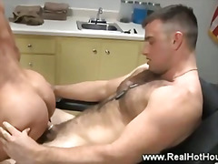 Gay Dos homes musculosos Pornstar Gay