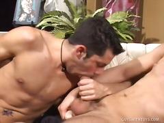Hot jocks suck cocks after football practice