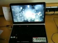 Amatör Avsugning Brunett Ansiktsprut Webcam
