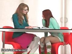 Laski Dziwactwa Blondynki Hardkor Lesbijki