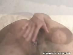 Asiatisk Stor Vakker Kvinne Hjemmelaget Piercing Tenåring
