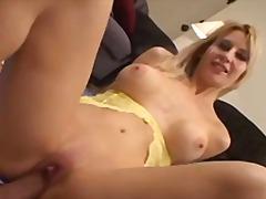 Blonde Tripping Malupit Orgasm Pov