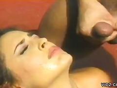 Striekanie Výstrek Na Tvár Tvrdé Porno V Prírode
