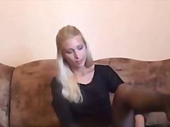 Blonde Tsupa Czech Malupit Gawang Bahay
