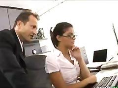 Anal Brünette Hardcore Büro Piercing