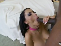 Jenna presley and lex steele sip penis loaded with cum