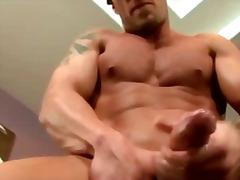 Biseksuaalne Seemnepurse Gei Masturbeerimine Pornostaar