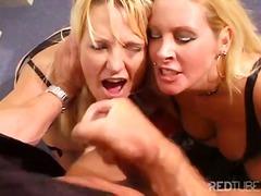 Anal Blond Blowjob Stiefel Deepthroat