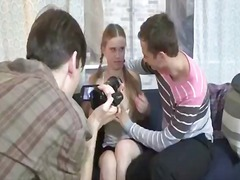 Double penetration episode for naive teeny