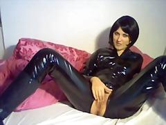 Alman Lateks Masturbasya Pornoulduz