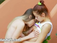 Romantic lesbo adventure from usa
