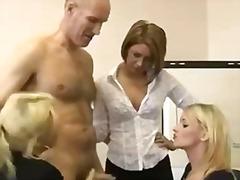 Шмукање Британски Облечена Жена Женска Доминација