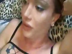 Женска Женски-Маж Латекс Огромен Кур Женска Со Кур
