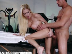 Anal Blondiner Blowjobs Dyb Penetration Massage