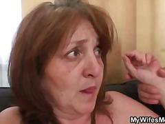 Мамење Баба Зрели За Секс Мајка Реално