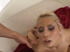 Beib Blondid Suhuvõtmine Näkku purskamine Hardcore