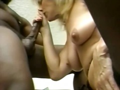 This slut is a horny mature