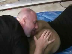 Big hairy asses getting the gay drilling
