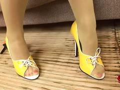 פטיש לסביות גרביונים פטיש כפות רגליים