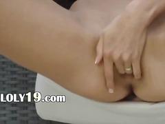Brünetid Masturbeerimine Teismeline
