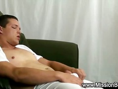 Gay Estirant Masturbació En Solitari Pallejar