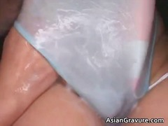 Real asian ramu with big breasts get part1