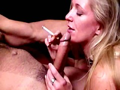 Blond Blowjob Pärchen Hardcore Oral