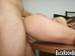 Hot brunette nailed by fake castng agent